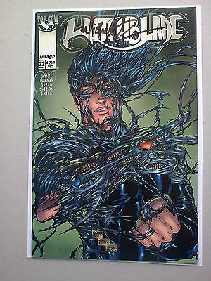 witchblade # 22 vol 1 signed by michael turner nm- 1998