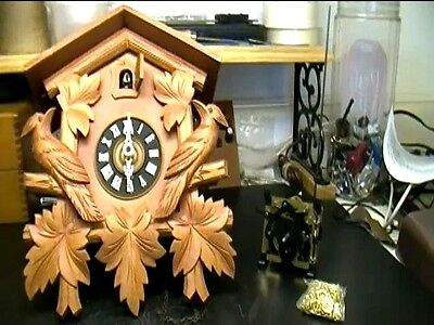 Clock Repair DVD Video - Replace Cuckoo Clock Regula Movement Yourself