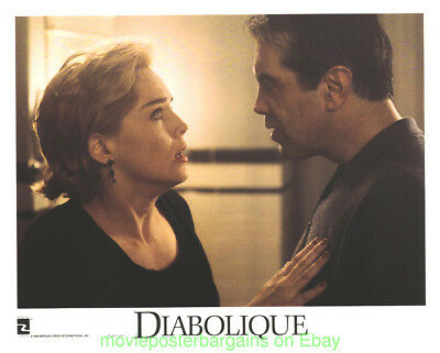 DIABOLIQUE LOBBY CARD size 11x14 MOVIE POSTER SHARON STONE 1996