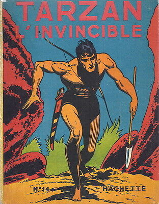 Rare Eo 1949 Edgar Rice Burroughs + Burne Hogarth : Tarzan L'invincible