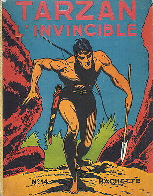Rare Eo Edgar Rice Burroughs + Burne Hogarth : Tarzan L'invincible (