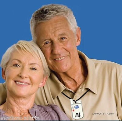 Senior Elderly Emergency Call Button Pendant - without a monthly charge? YES !!