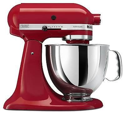 KitchenAid Stand Mixer tilt 5-Quart ksm150pser Artisan Red Brand New