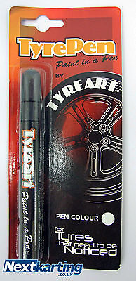 Go Kart Tyre Pen Gold / Tyreart / Rotax Tkm / Race Car Race Bike Classic Car