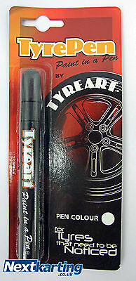 Go Kart Tyre Pen Red  / Tyreart / Rotax Tkm / Race Car Race Bike Classic Car