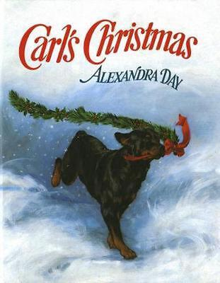 Carl's Christmas by Alexandra Day Hardcover Book (English)
