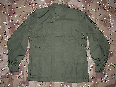 Bdu Jacket New M Od Green Ripstop Mil Spec  Medium