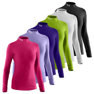 Under Armour Ladies ColdGear Mock Womens Golf Base Layer
