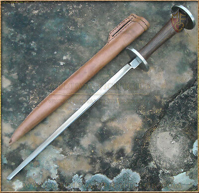 Stiletto Rondel Combat Dagger - Historical Reenactment Weapon