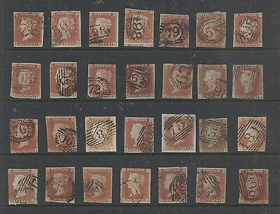 Great  Britain  3  (49) used nice number cancel stamps        MS0930