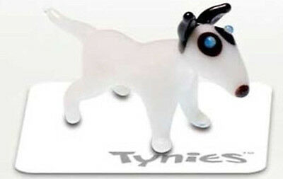 POW Bull Terrier Dog Show TYNIES Tiny Glass Figure Figurines Collectibles 0111