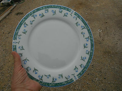 Citation COVENTRY-BLUE single dinner plate of 6 available,nice condition,combine