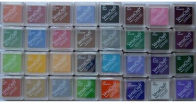 VersaCraft INK PAD Small for Fabric Paper Wood etc  Assorted Colours you choose!