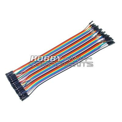 840Pcs 2-125mm Dupont Cable Jumper Breadboard Solderless Wire Cable M-M Arduino