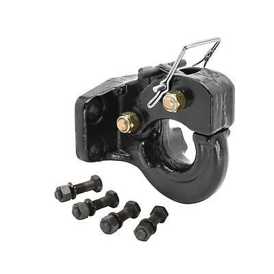 Tow Ready 63013 Receiver Mount Pintle Hook 5 Ton Incl. Grade 8 Hardware