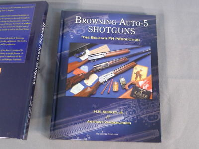 """Browning Auto-5 Shotgun Reference Book, """"The Belgian FN Production"""", Hardbound"""