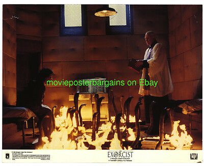 THE EXORCIST III LOBBY CARD size 11x14 Inch MOVIE POSTER 7 Cards 1990 HORROR