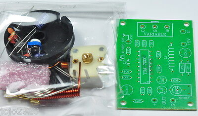 Basic FM Radio circuit Kit 88-108MHz TDA7000 NXP 4.5-9VDC Unassembled [FK707]
