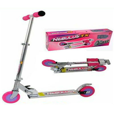 Children/kids Nebulus Tx Folding Scooter Ozbozz Pink 5+