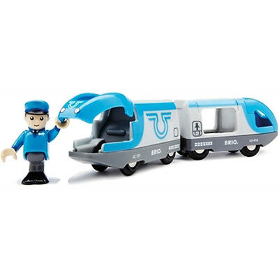 BRIO Travel Battery Powered Wooden Train Engine Thomas compatible NEW 33506