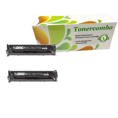 2PK Toner Cartridge For compatible with HP CB540A LaserJet CP1215 1215 PREMIUM!