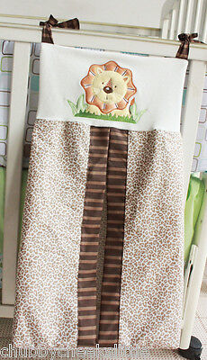 NEW High Quality Embroidered Nursery Diaper Nappy Stacker Organiser Bag