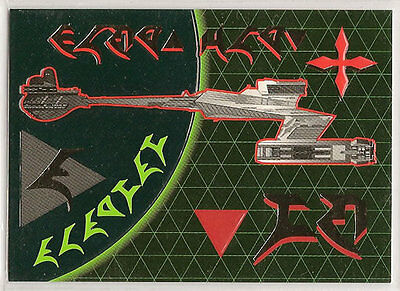 Star Trek TNG Next Generation Season 3 Embossed Chase Card S15 Battlecruiser