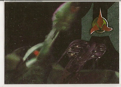 Star Trek TNG Next Generation Season 6 Embossed Chase Card S33 Cloaking Device