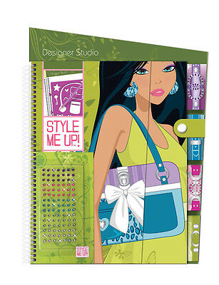 Style Me Up 623172 Zeichenblock Sketch Book (L) Fashion Purse Handtasche