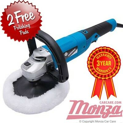NEW!! Silverline **VARIABLE SPEED** Rotary Machine Car Polisher 3m, meguiars