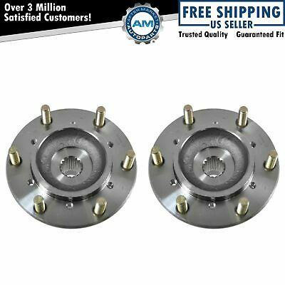 Front Wheel Hub & Bearing Left & Right Pair Set of 2 for Passport Rodeo 4WD 4x4