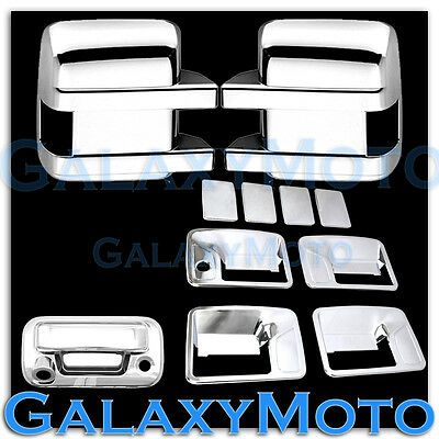 AAL FOR 99-07 FORD F-250//F-350//F-450 CHROME COVER 4 DOOR HANDLE PSGR KH+TAILGATE