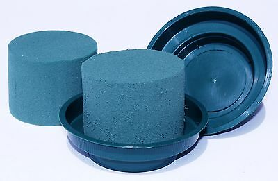 Quality Smithers MaxLife Cylinder Oasis Floral Foam with Matching Junior Bowl