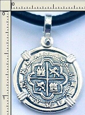 Atocha Coin Key West Medallion Pirate Reale Silver Cob Piece Of Eight 1622