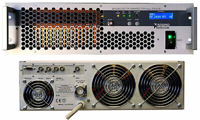 Broadcast Fm Exciter 2Kwatt  Stereo+Rds