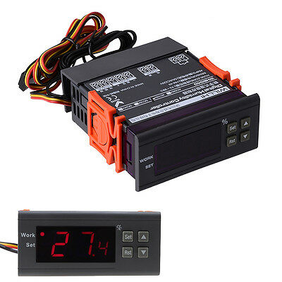 110V Digital Air Humidity Control Controller WH8040 Range 1%~99% RH HM-40 Type