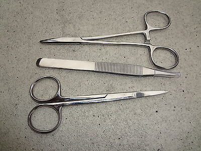 Classic Suture Removal 3 piece  Kit Surgical Instruments