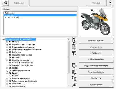 BMW R 1200 GS Manuale officina RepROM