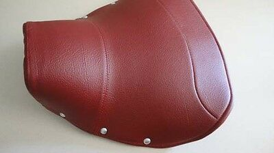 Vespa solo driver seat saddle RED COVER VLB Sprint V8391