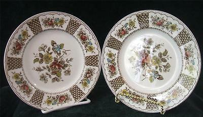 "Pair of - ALFRED MEAKIN - MELODY - PLATE's - 6 7/8"" Diameter - STAFFORDSHIRE"