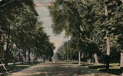 1913 Jarvis Street Scene Postcard Canadian National Exhibition Toronto Canada