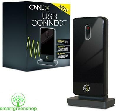 Owl CM120 USB Connect Electricity Energy Monitor Live Data Dongle TSE005-00