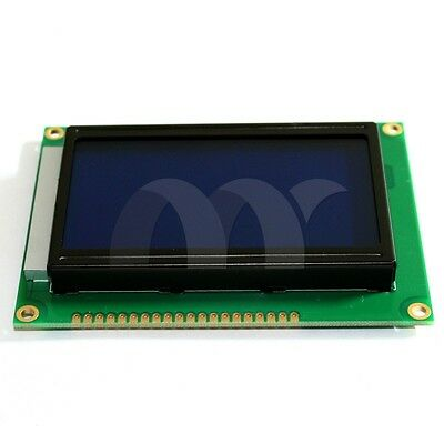 New 12864 LCD 128x64 LCD blue screen with backlight ST7920 standard screen