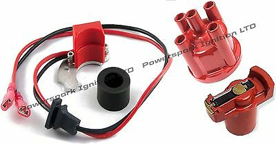 Powerspark Electronic Ignition with Distributor Cap & Rotor for Bosch 1pc RH .