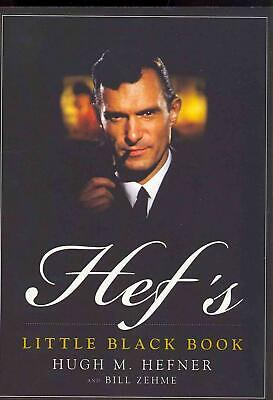 Hef's Little Black Book by Hugh M. Hefner (English) Paperback Book Free Shipping