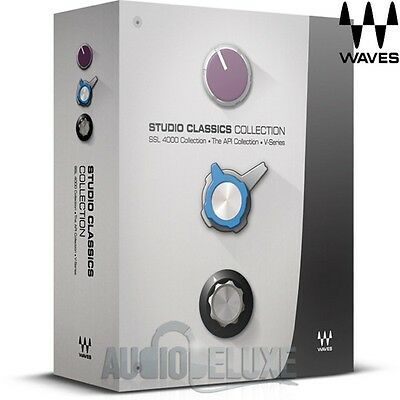 Waves Studio Classics Collection Bundle **Make An Offer For Best Price!**