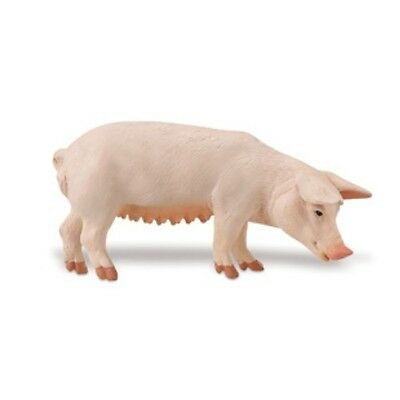 Safari #161029 Sow, Toy Collectible Female Mother Pig