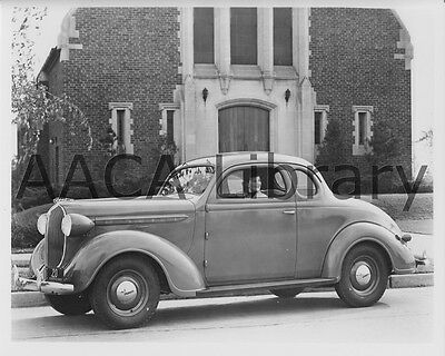 1938 Plymouth P5 Coupe, Factory Photo (Ref. #67301)