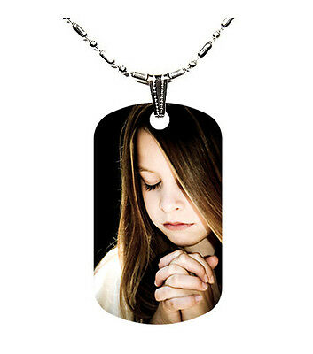 Double Side Full Color Custom Personalized Photo Dog Tag Picture Pendant w/Chain
