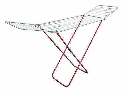 18M Gull-Wing Clothes Airer Winged Style Laundry Cloth Drier Washing Concertina